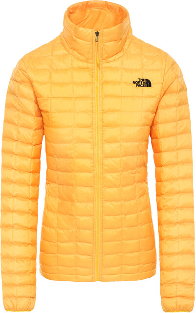 Thermoball Eco jacket with hood in orange